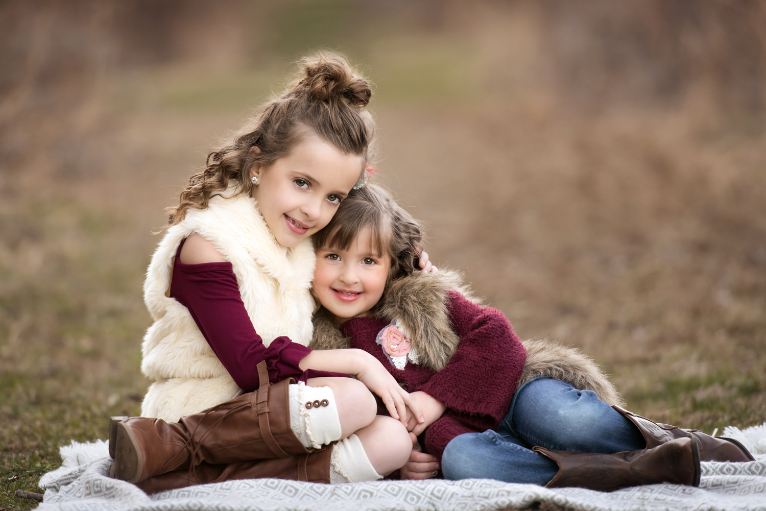 Family loving each other, Canonsburg, Family Photography, little girls, sister. cuddled