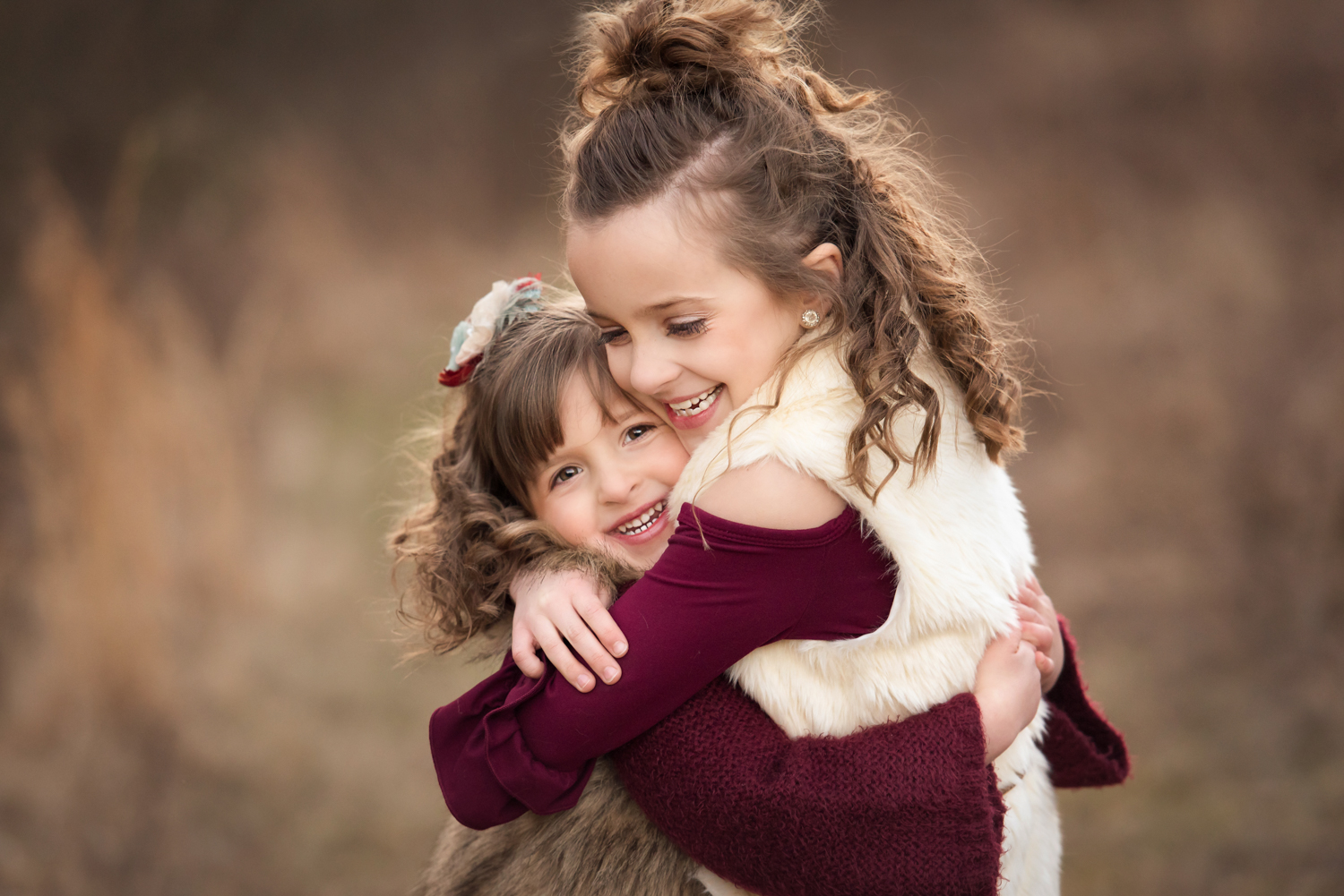 Family loving each other, Canonsburg, Family Photography, little girls, sisters hugging